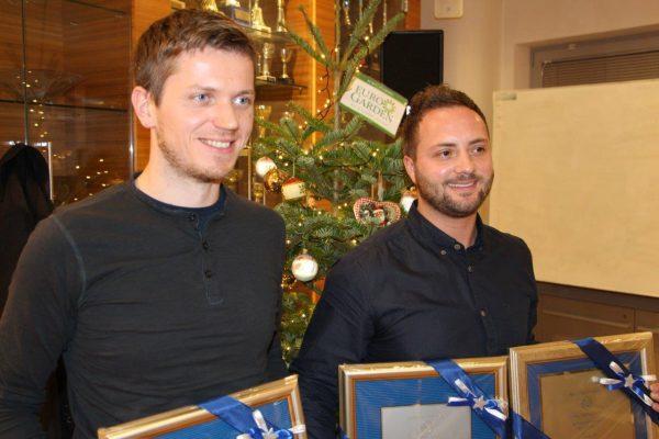 Matej Lepej in Luka Sajko